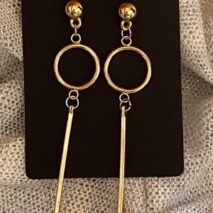 Gold earrings new